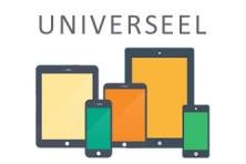 Universeel laptopcases