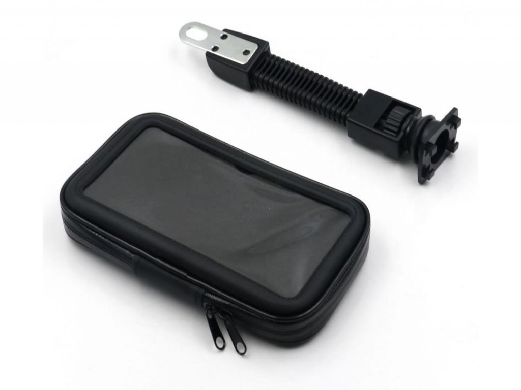 Telefoonhouder Alcatel One touch scribe hd voor Motor/Scooter/Brommer   zwart   Alcatel