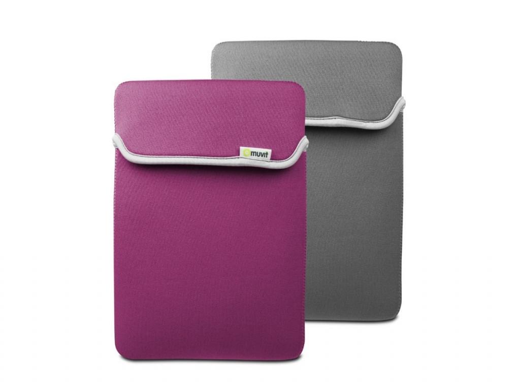 Muvit Reversible Sleeve Lenco Tab 1035   paars   Lenco