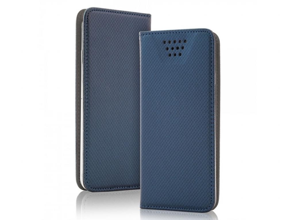 Smart Magnet luxe book case Wiko Highway 4g | blauw | Wiko