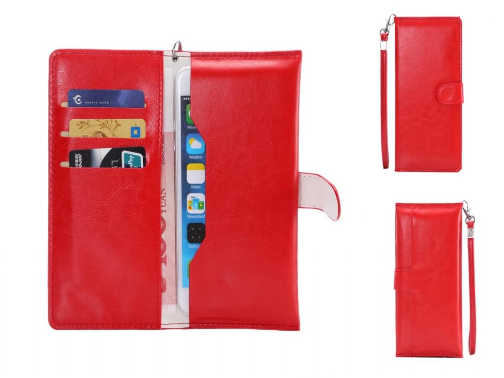Wallet Tasje voor Apple Iphone 5s  | rood | Apple