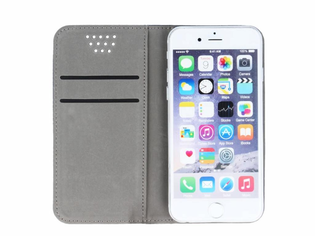 Smart Magnet luxe book case Archos 40c titanium | zwart | Archos