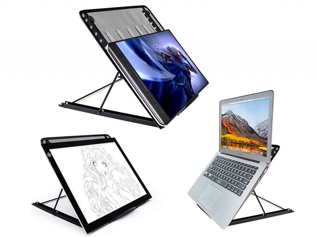 Laptop standaard, verstelbaar en inklapbaar, 17.3 inch | zwart | Universeel