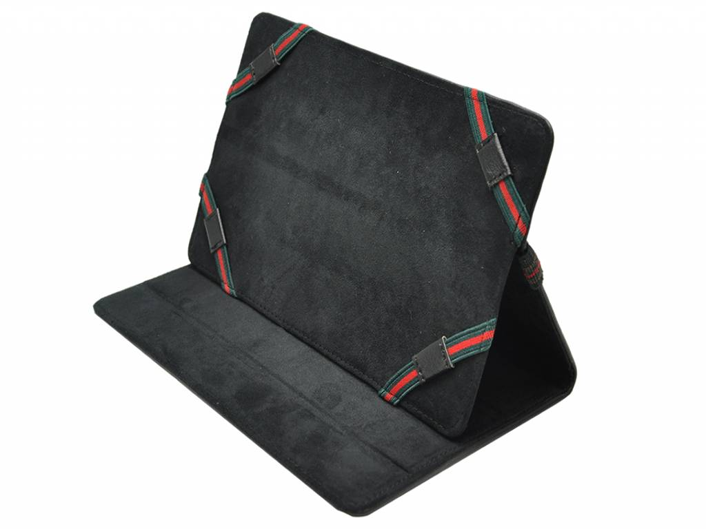 Samsung Galaxy tab 7.0 plus p6200 p6210 Cover   Premium Hoes   zwart   Samsung