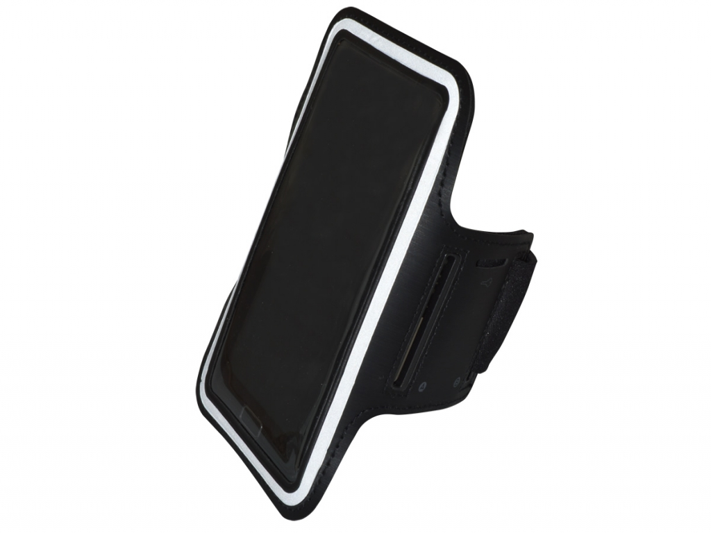 Sport Armband voor Amplicomms Powertel m6300  | zwart | Amplicomms
