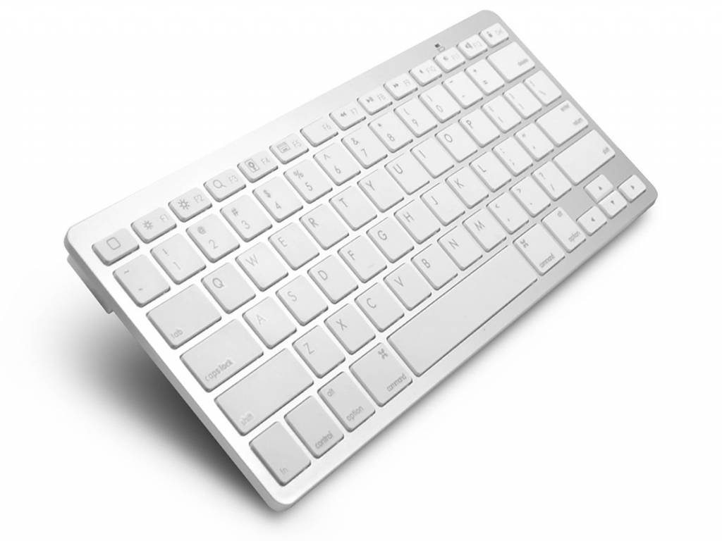 Draadloos Bluetooth Keyboard voor Smart Tv Toetsenbord | wit | Smart