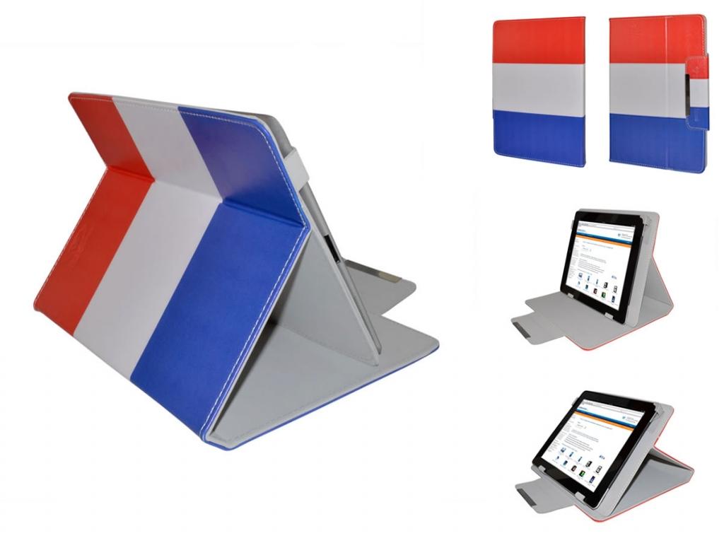 Tablet Hoes 9.7 inch met Nederlandse vlag  | motief | Universeel