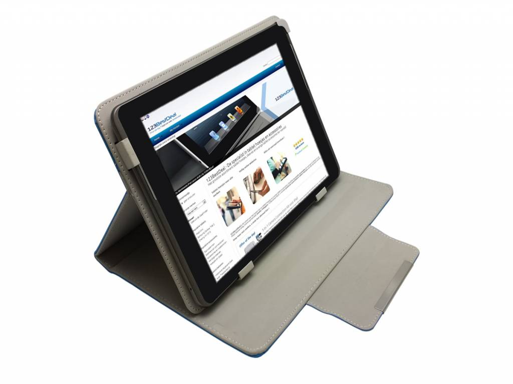 Iriver Story eb02 ebook ereader | Hoes | Case | Cover | Diamond Class | blauw | Iriver