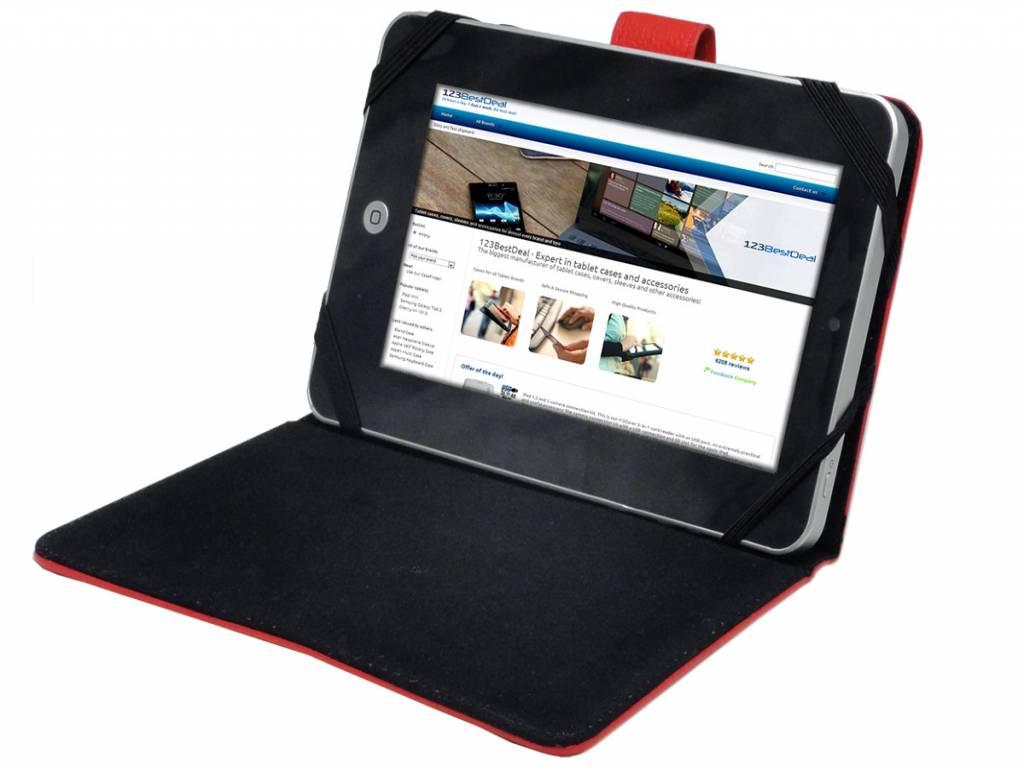 Samsung Galaxy tab 3 7.0 t210 Cover | Beschermhoes met Standaard | wit | Samsung