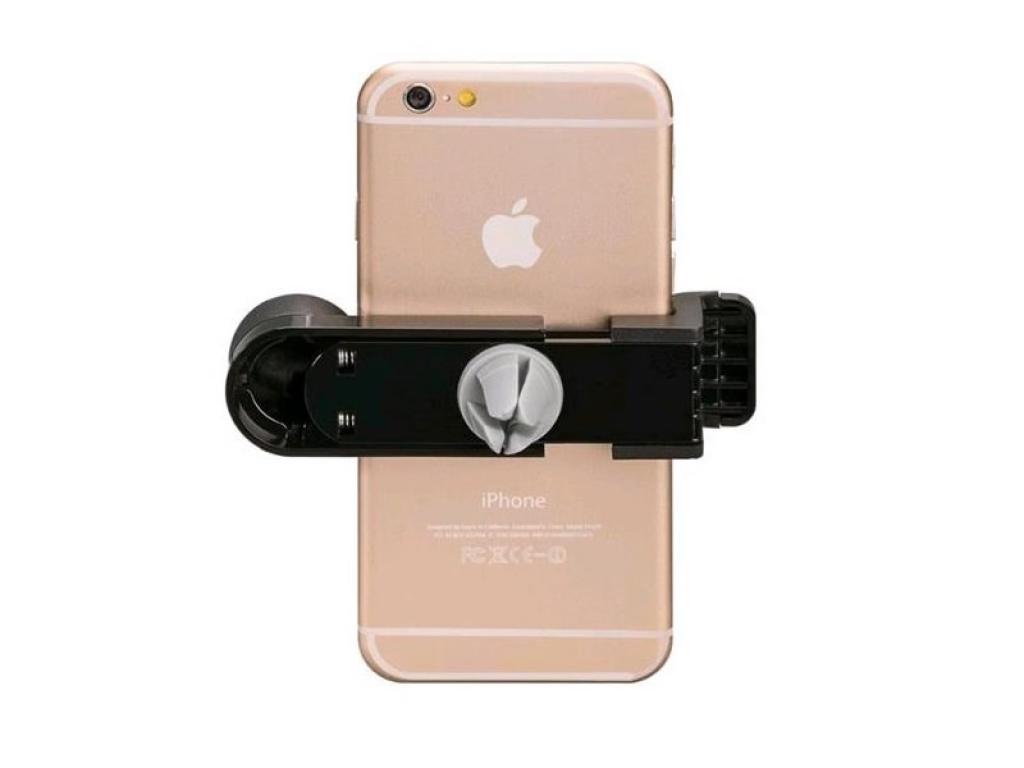 Auto ventilatie telefoonhouder | Apple Iphone 12 mini | Auto houder | zwart | Apple