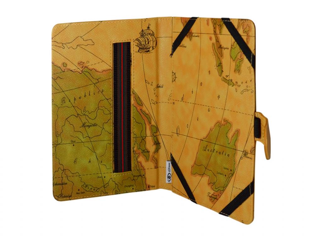 Retro Book Cover voor Minipad Aldi tablet  | motief | Minipad