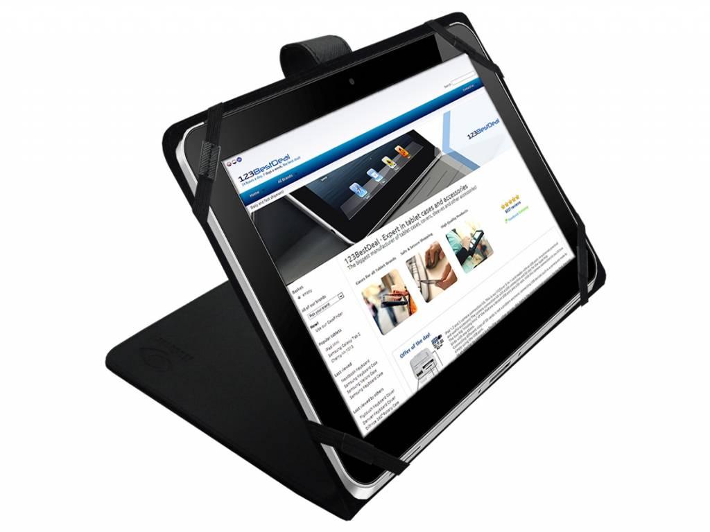 Cover voor een Kurio 10s rtl tablet | Betaalbare Tablet Hoes | zwart | Kurio