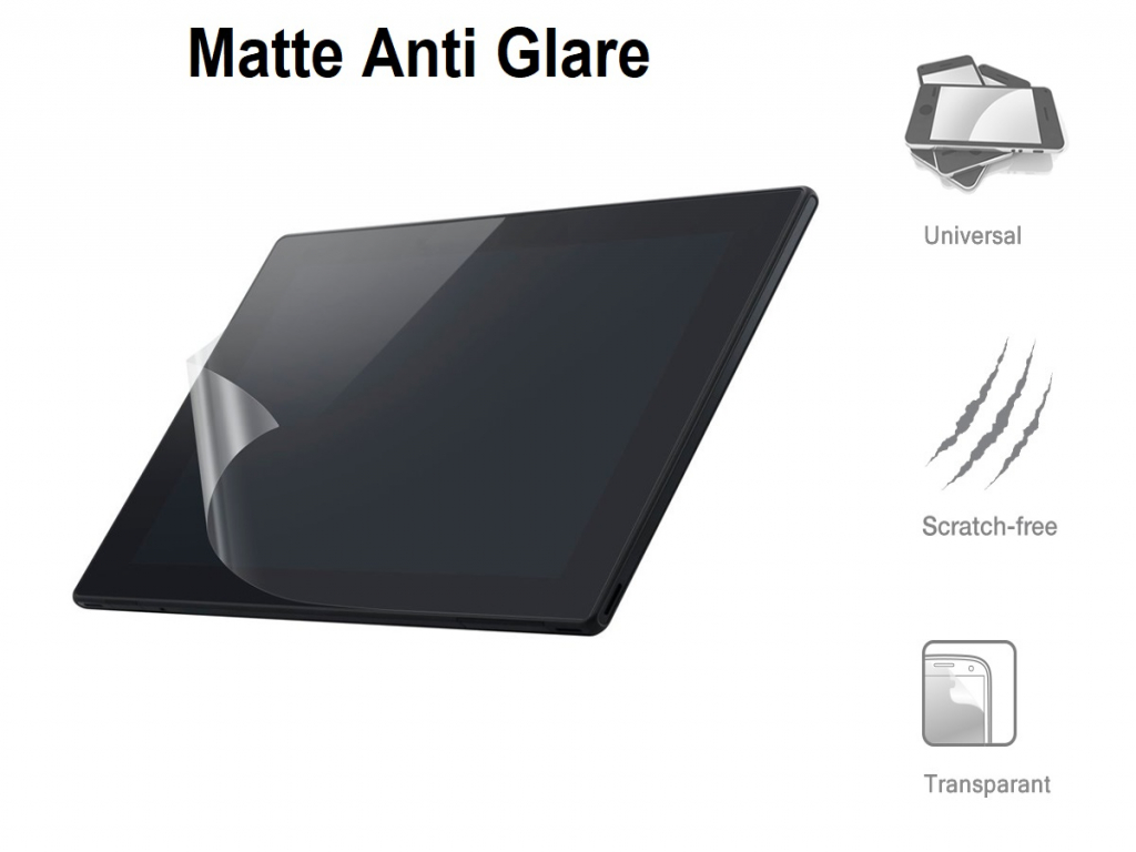 Screenprotector Fujitsu Stylistic q572   A4 formaat    Anti Glare matte   transparant   Fujitsu