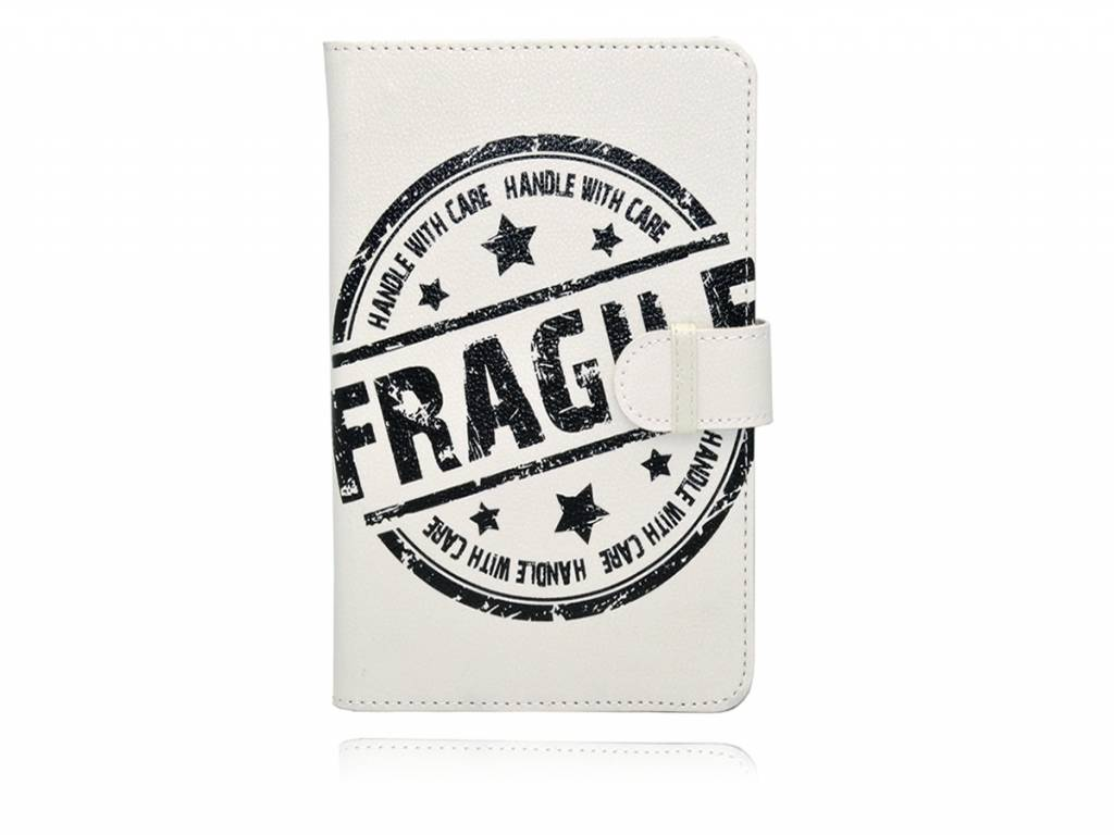 Dmedia Atm3470 - Fragile Print Hoes - Case - Cover   wit   Dmedia