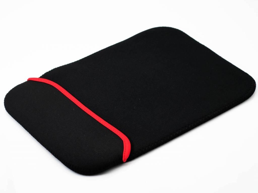 Neoprene Sleeve voor een Barnes noble Nook glowlight plus | zwart | Barnes noble