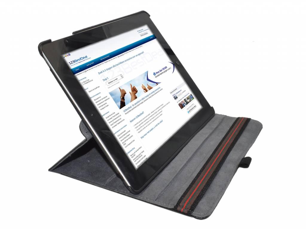 Case voor Apple Ipad 3 met 360 graden Draaibare Multi-stand   hot pink   Apple