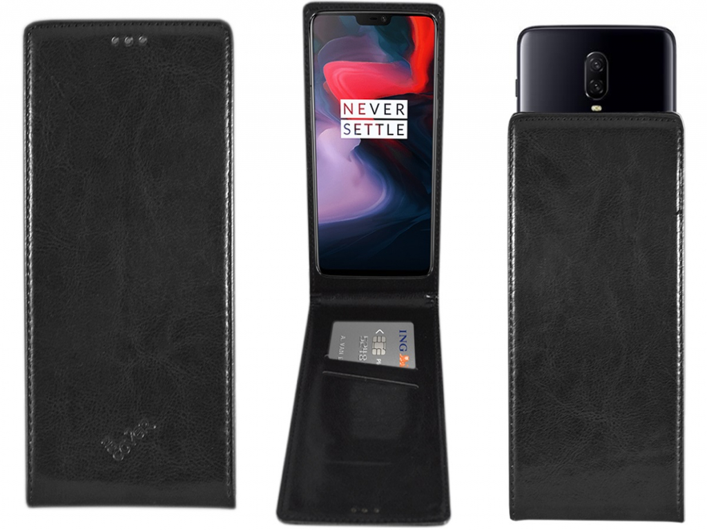 Smart Magnet luxe Flip case Zte Blade force hoesje | zwart | Zte