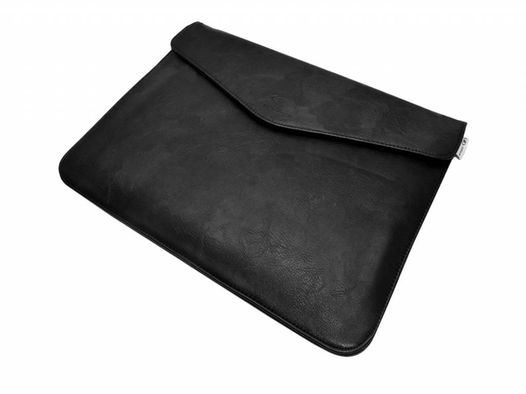 Ilc 10 inch Sleeve DeLuxe | Hoogwaardig PU Leder Tas | zwart | Ilc