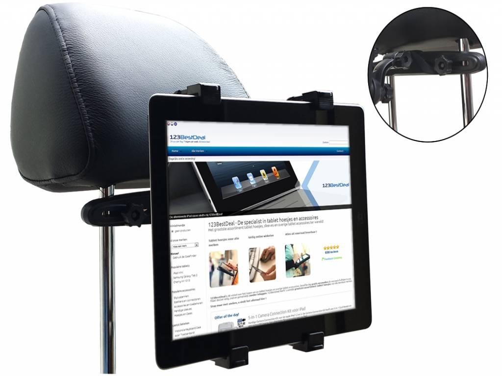 Dyno tech 7.8 inch 8gb wifi Hoofdsteun Houder  | zwart | Dyno tech