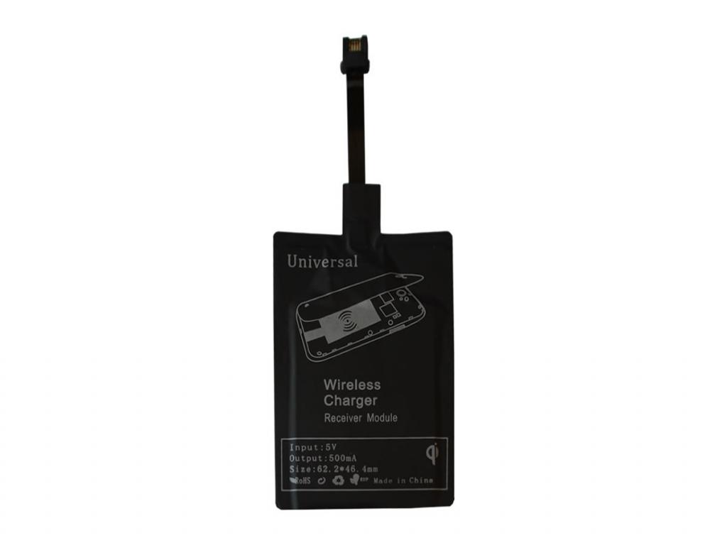 Qi Draadloze ontvanger voor General mobile Andriod one gm6  | zwart | General mobile