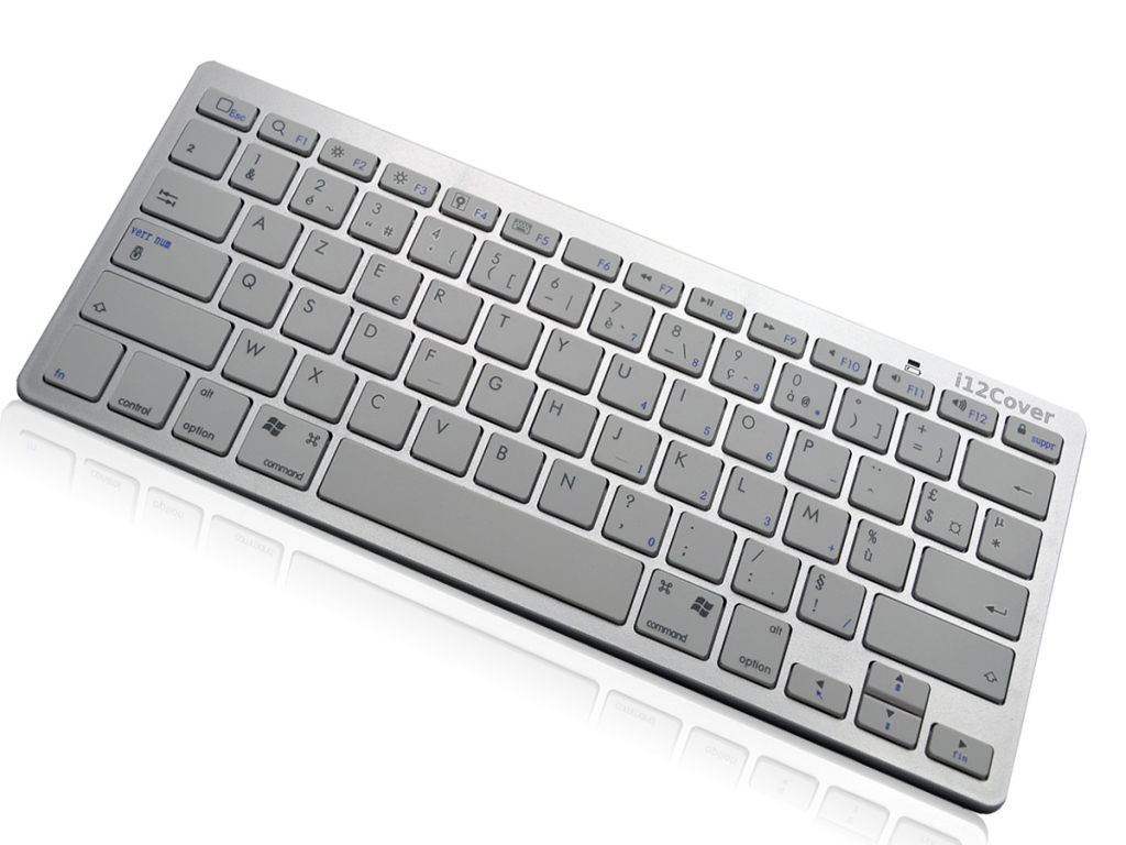 Draadloos Bluetooth Klavier Keyboard voor Ambiance technology At tablet win 7 | wit | Ambiance technology
