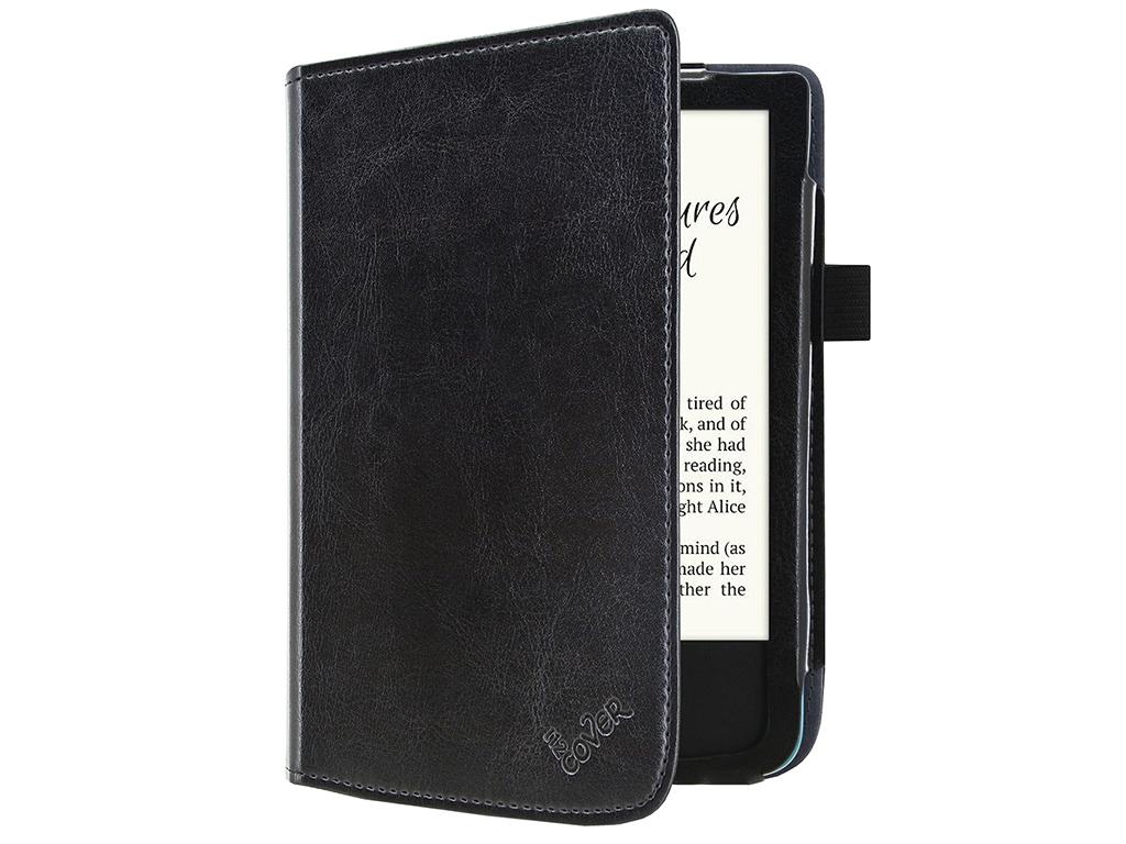 Pocketbook Touch lux 4 | e-Reader Hoesje met sleepfunctie | zwart | Pocketbook