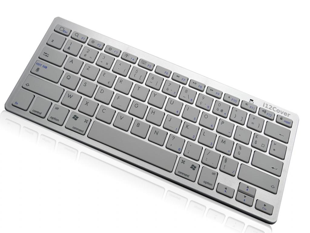 Draadloos Bluetooth Klavier Keyboard voor Yarvik Tab10 201 xenta | wit | Yarvik