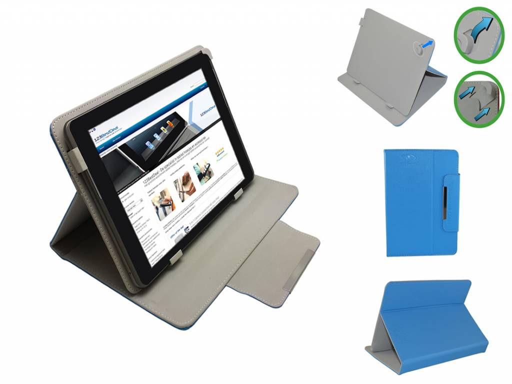 Samsung Galaxy tab a 8.0 Hoes | Diamond Class Case | wit | Samsung