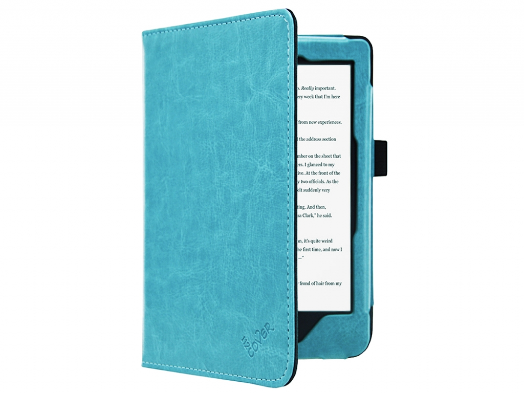 Kobo Clara hd | Luxe e-Reader Hoesje, Luxe materiaal Licht-Blauw | blauw | Kobo