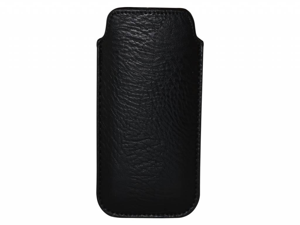 Nokia 222 dual sim   Telefoon hoesje  Sleeve   zwart   Nokia