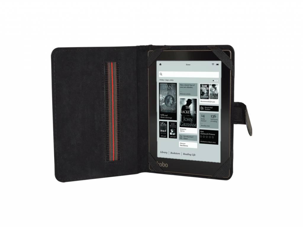 Book Cover voor Bebook Mini   eReader Hoesje   Zwart   zwart   Bebook