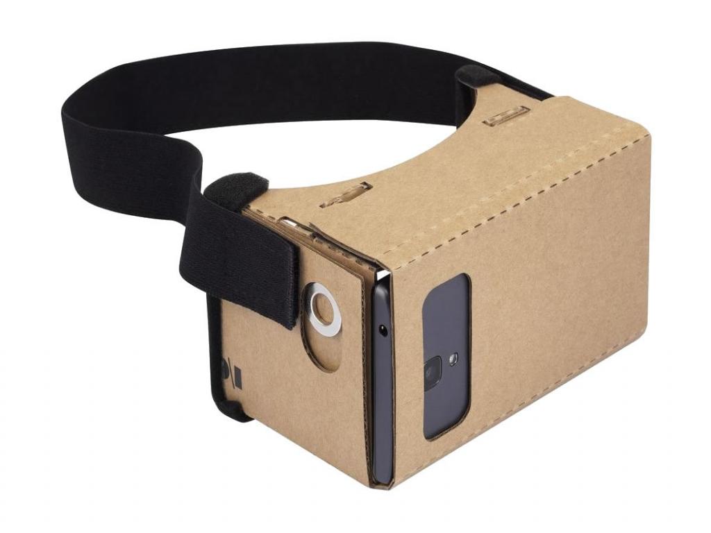 VR Google Cardboard Pro XL voor Sim Simphone 3    bruin   Sim