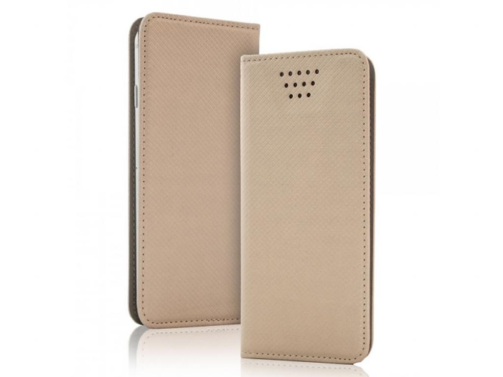 Smart Magnet luxe book case Lg Optimus f6   goud   Lg