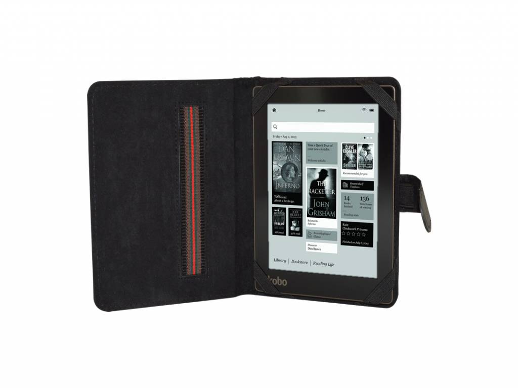 Onyx Boox monte cristo 4 eReader Hoesje | Book Cover | Zwart | zwart | Onyx