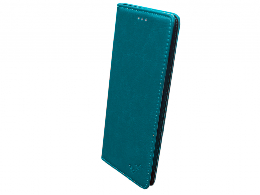 Smart Magnet luxe book case General mobile Discovery elite hoesje | blauw | General mobile