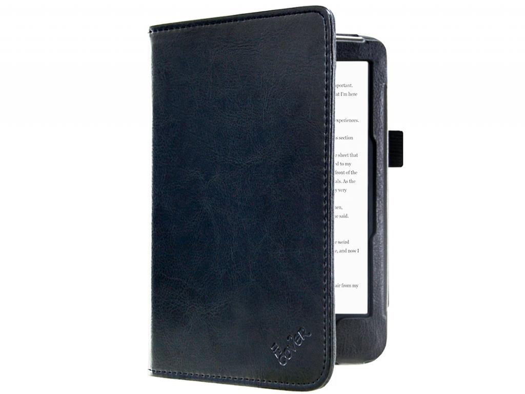 Kobo Clara hd | Luxe e-Reader Hoesje | Luxe materiaal Zwart | zwart | Kobo