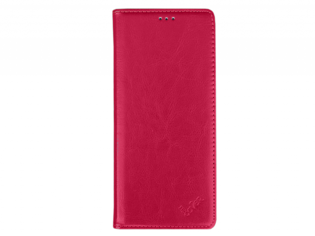 Smart Magnet luxe book case General mobile Android one gm5 plus hoesje | hot pink | General mobile