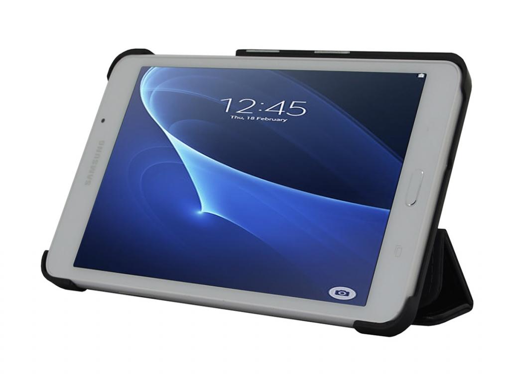 TriFold Slim Case Samsung Galaxy tab a 7.0 2018 business kwaliteit   zwart   Samsung