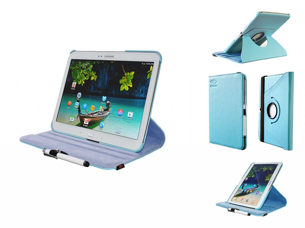 Samsung Galaxy Tab 3 10.1   Swivel Case   360 graden Draaibaar   wit   Samsung