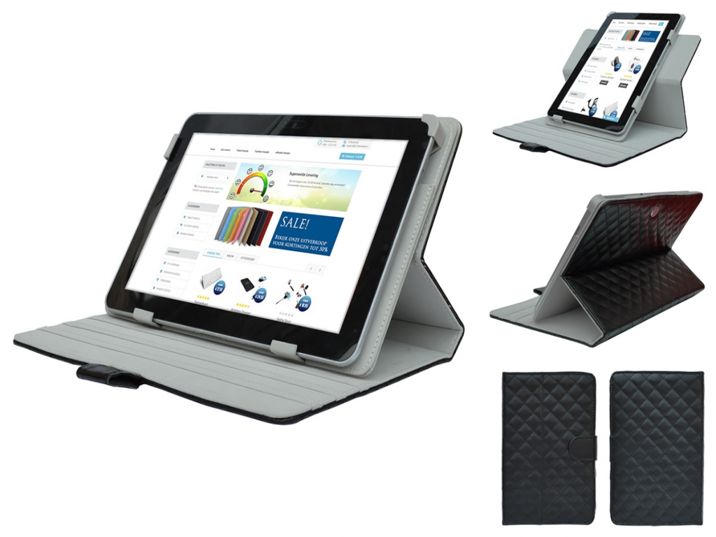 Alcatel One touch pop 7s Case 360  | zwart | Alcatel