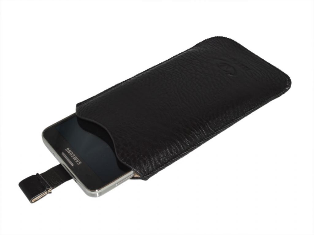 Vodafone Smart 4 power | PU Leren Sleeve | Telefoon hoesje | bruin | Vodafone