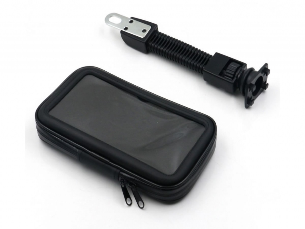Telefoonhouder General mobile Android one gm5 voor Motor/Scooter/Brommer | zwart | General mobile