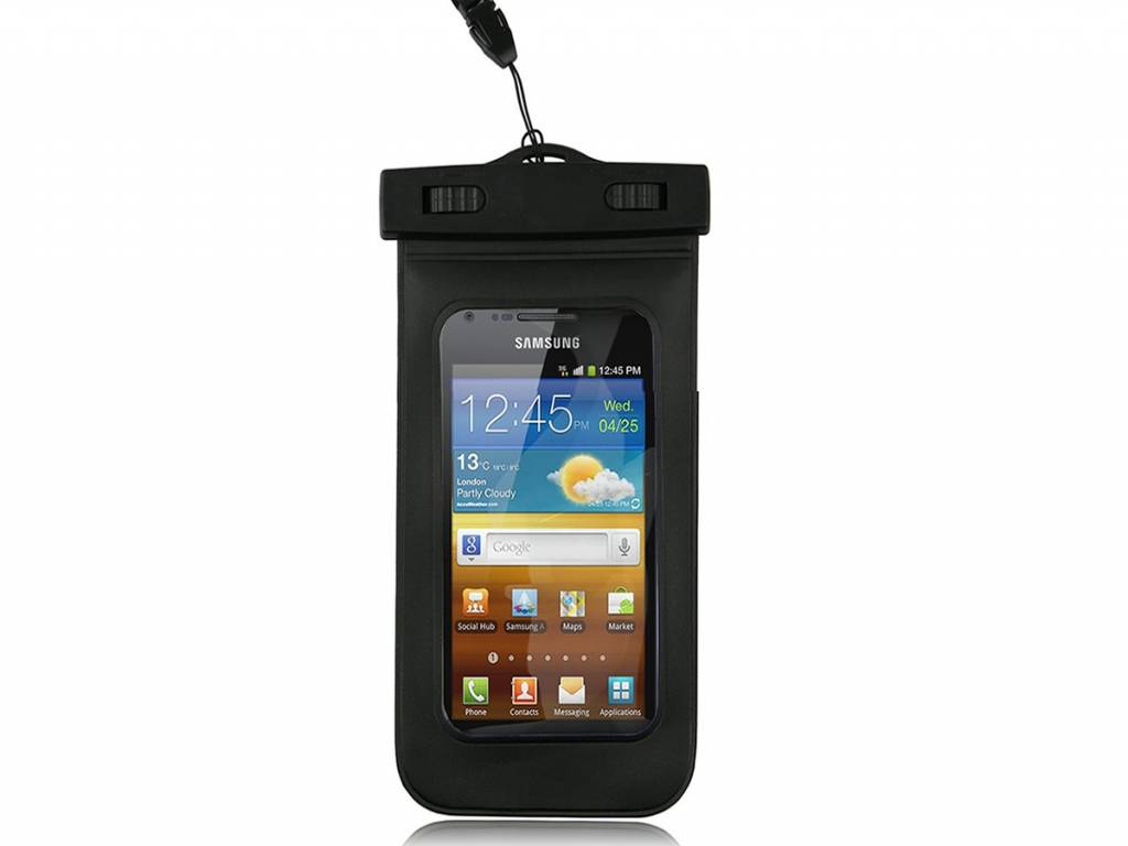 Waterdichte Samsung Galaxy ace 2 i8160 hoes  -123BestDeal | transparant | Samsung