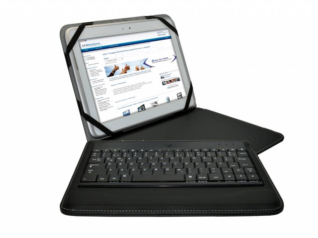Denver Taq 10043   Bluetooth Tastatur QWERTZ   Deutschen Layout   zwart   Denver