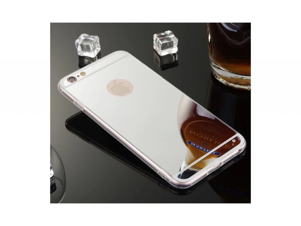Flexibele Soft Case voor de Iphone 5s met spiegel   goud   Apple