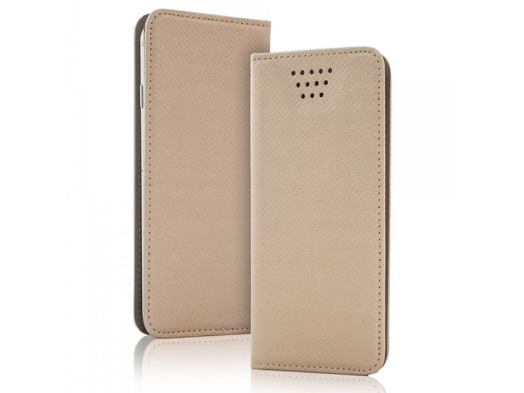 Smart Magnet luxe book case Nokia Lumia 735 | goud | Nokia