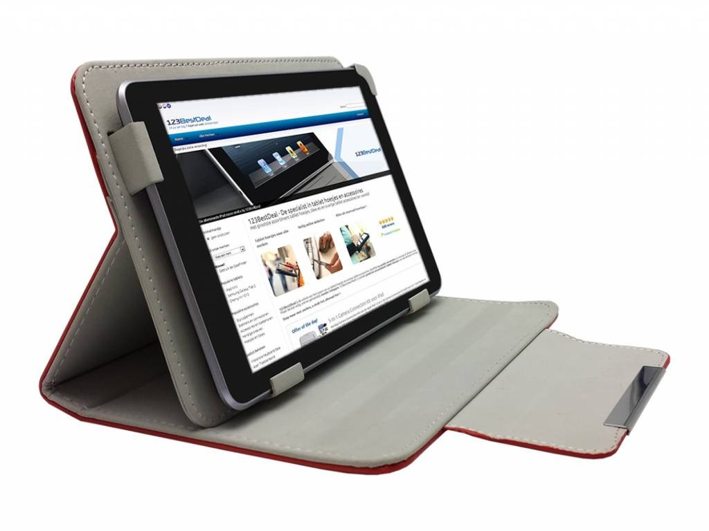 Alcatel One touch tab 7 Hoesje   Diamond Class Case   rood   Alcatel