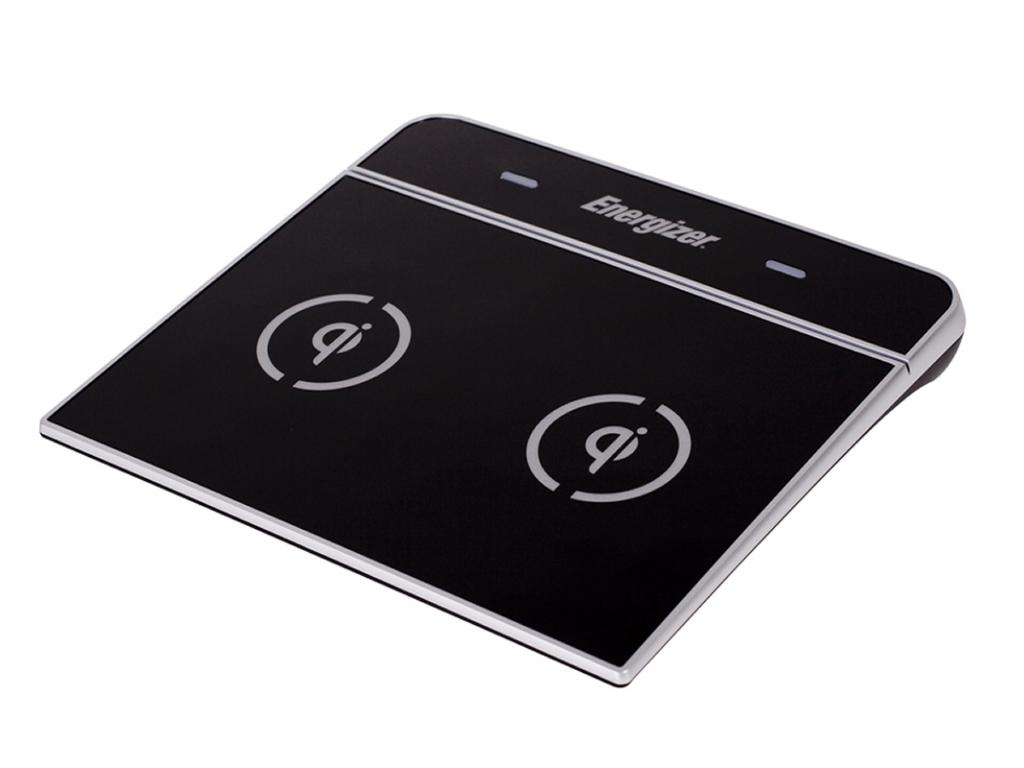 QI draadloze Dual lader voor Fujitsu Arrows f 09d  | zwart | Fujitsu