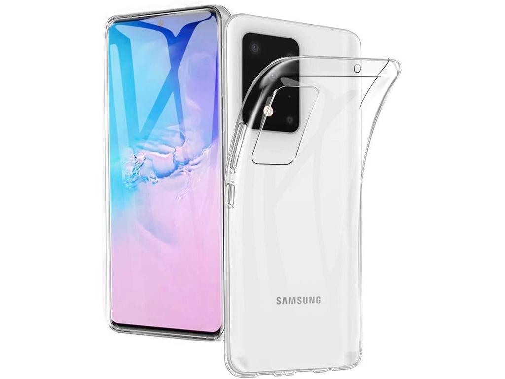 Flexibele achterkant bescherming Samsung Galaxy s20 | transparant | Samsung
