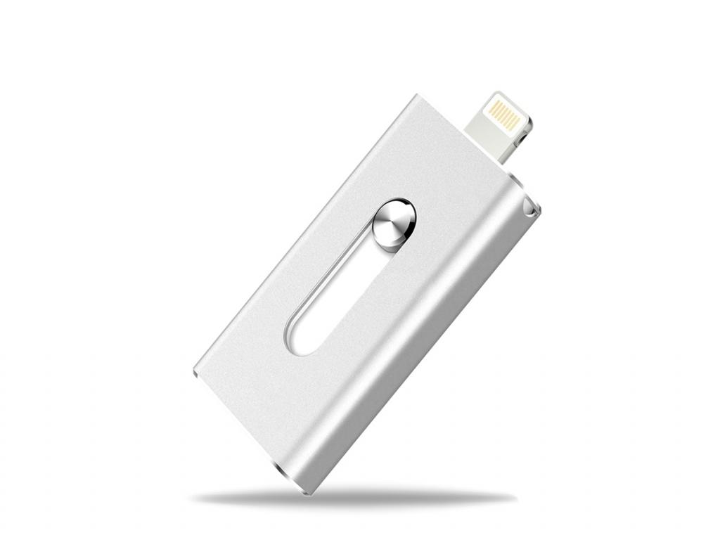 Flash drive 64GB voor Apple Iphone 11 | zilver | Apple